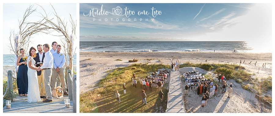 Edisto Beach SC wedding photo